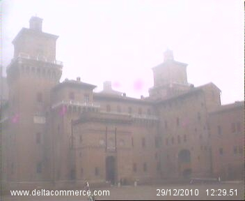 webcam ferrara castello