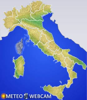 Mappa Webcam Regioni Italia