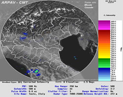 Mappa radar
