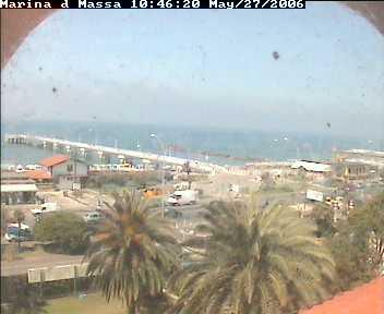 webcam massa carrara - marina di massa