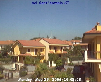 webcam aci sant antonio